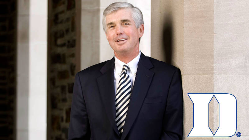 Duke AD Kevin White Appointed Chair of NCAA Tournament Selection Committee for2019-2020
